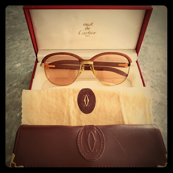 94dab001376 Cartier Accessories - CARTIER Vintage Sunglasses